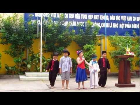 """Vở kịch """"Hạt đậu thơm"""" của Trường Tiểu học Phạm Ngũ Lão"""