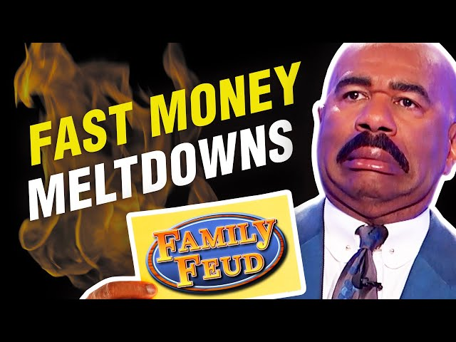 TOP 10 Fast Money MELTDOWNS! Steve Harvey is DUMBFOUNDED!
