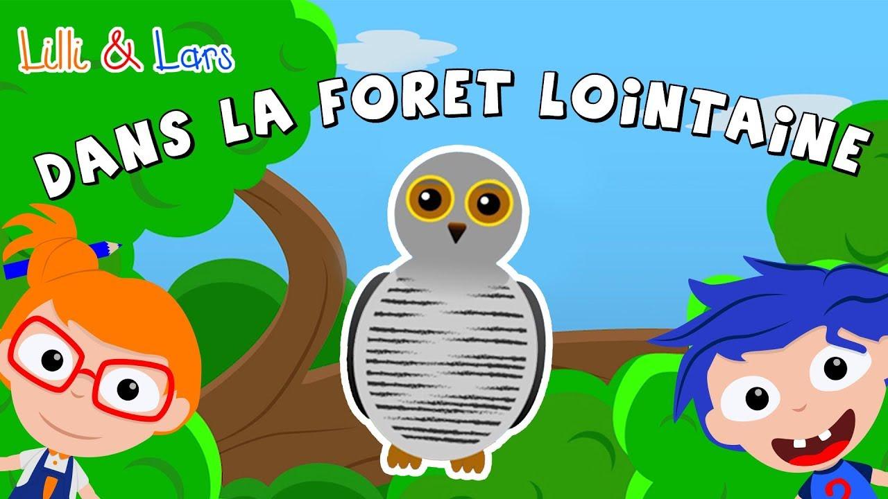Dans Le Forêt Lointaine Comptines Et Chansons Pour Les Petits Coucou Hibou