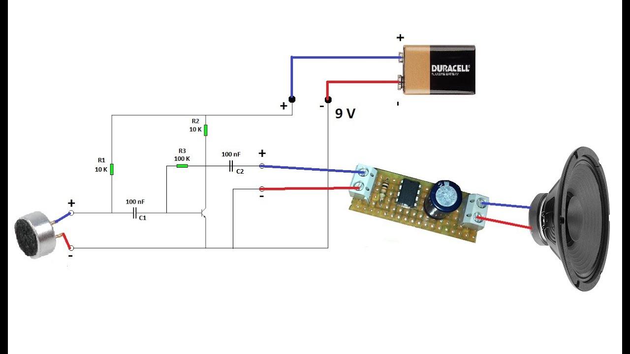 Circuito Bluetooth Casero : Construye tu amplificador de microfono !! youtube
