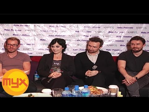 VJ Chino's MYXclusive Interview with The Cranberries