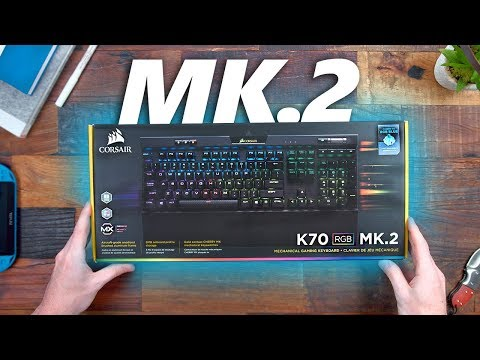 What's NEW w/ the Corsair STRAFE & K70 RGB MK. 2 Gaming Keyboards?