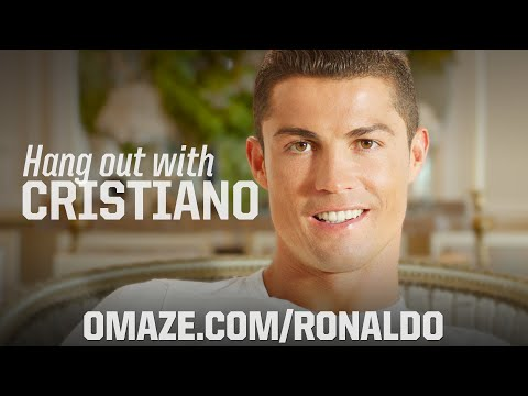 Cristiano Ronaldo launches incredible Omaze experience for charity