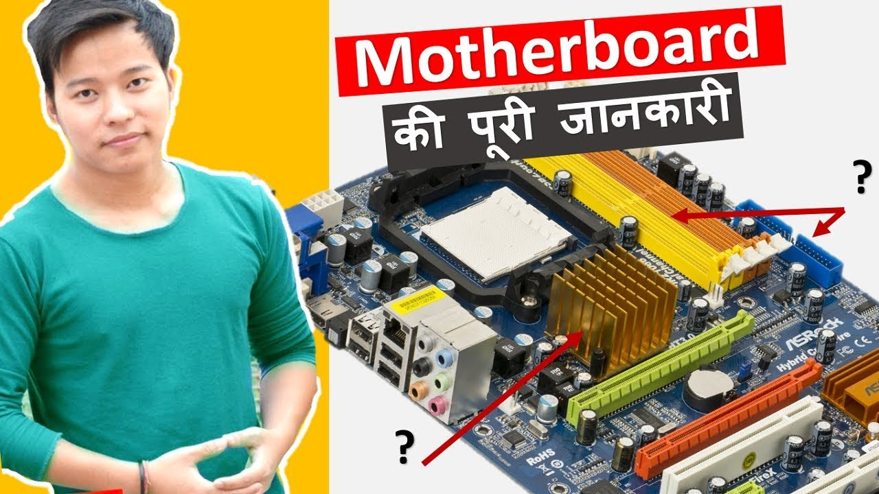 What Is Motherboard In Hindi Parts Of A Mother Board And Their The Diagrams Identify Main Components Intelr Desktop Function Use Kya Hai Iske