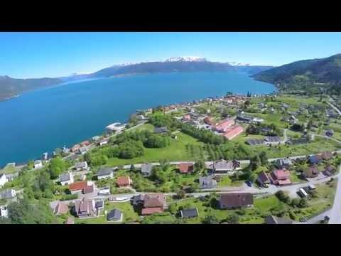 Beautiful Balestrand - Epic drone shots