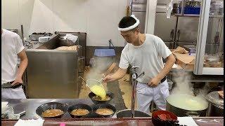 【神回】家系ラーメン総本山直系の調理風景【杉田家千葉店】ラーメンの作り方 how to make of iekei ramen