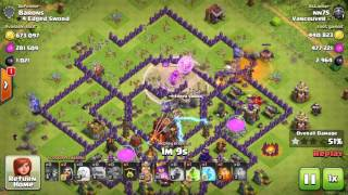 Clash of Clans MOST LOOT RAID EVER 100%