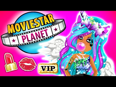 MOVIESTARPLANET VIP SHOPPING & MAKEOVER! 💋💄 MovieStarPlanet MSP VIP