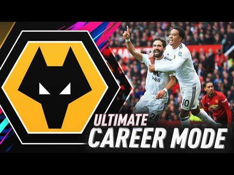 CAN WE BEAT MANCHESTER UNITED!?! FIFA 19 WOLVES ULTIMATE CAREER MODE #4