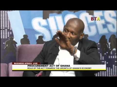 Procurement Act Of Ghana With Dr  Tett Afotey Walters And Andre Cotzee On Business Africa Live 1