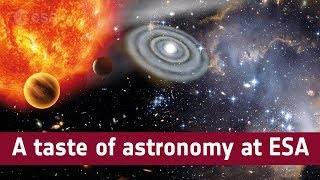 A taste of astronomy at ESA
