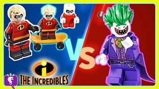 Incredibles Vs. Lego JoEker Adventure with HobbyKidsTV!