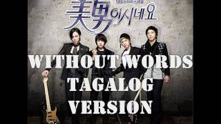 Without Words Tagalog Version