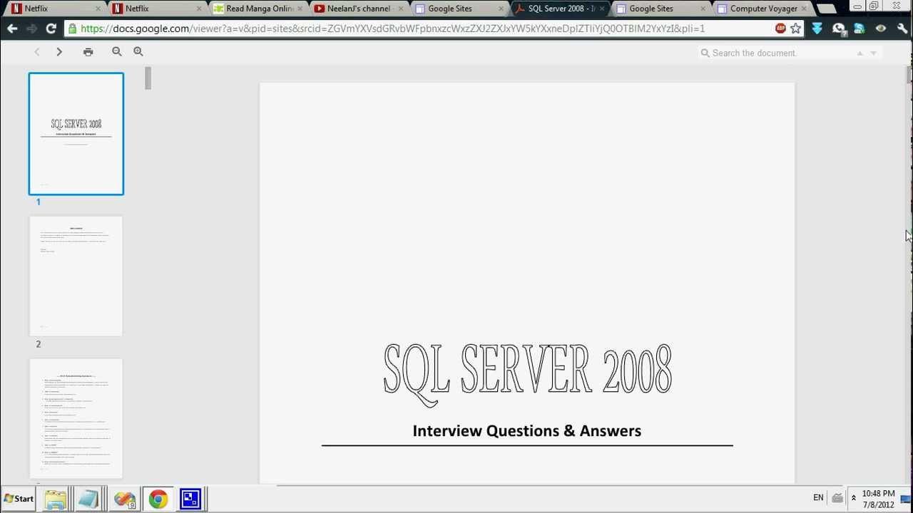 project dev tour ms sql server interview questions answers project dev tour ms sql server 2008 interview questions answers ebook project