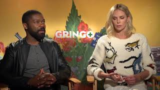 Gringo: David Oyelowo & Charlize Theron Official Movie Interview