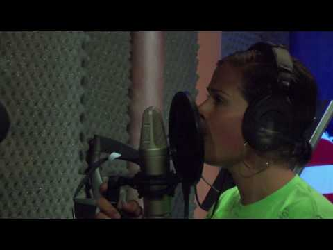 "Christian Music Artist in the Studio Recording ""Destiny""- Jeanne Marie"