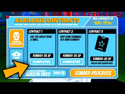 """HOW TO COMPLETE """"CALL THE CARGO PLANE"""" CONTRACT IN JAILBREAK 