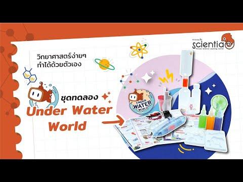 """ชุด ของเล่นวิทยาศาสตร์ Series 3 """"Under Water World"""""""