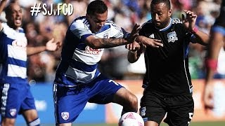 HIGHLIGHTS: San Jose Earthquakes vs FC Dallas | October 26th, 2013