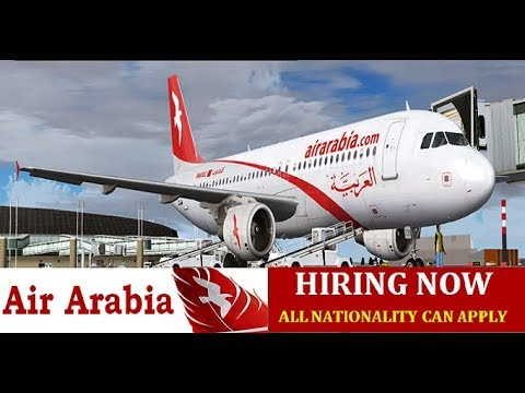 How to apply for ground staff in air arabia airlines - step by step process by Aviation Dreamer