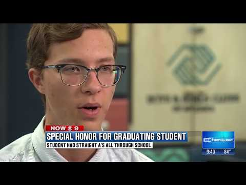 Queen Creek High School student featured on Channel 3