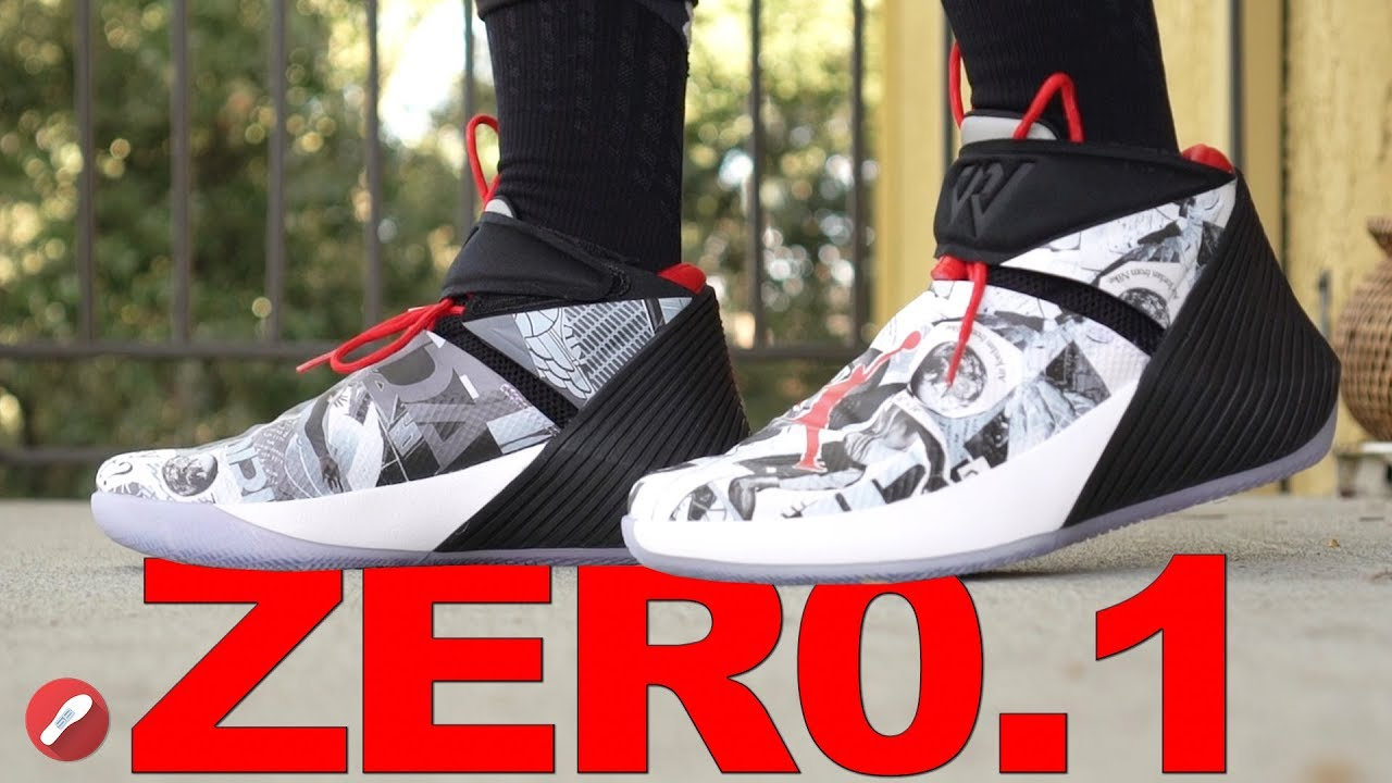 Jordan Russell Westbrook Why Not Zer0.1 First Impressions!