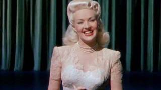 Betty Grable - Disney Girl