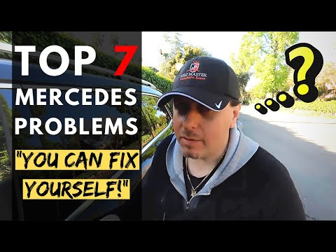 TOP 7 Mercedes Problems – You Can Fix Yourself! | Tips & Tricks