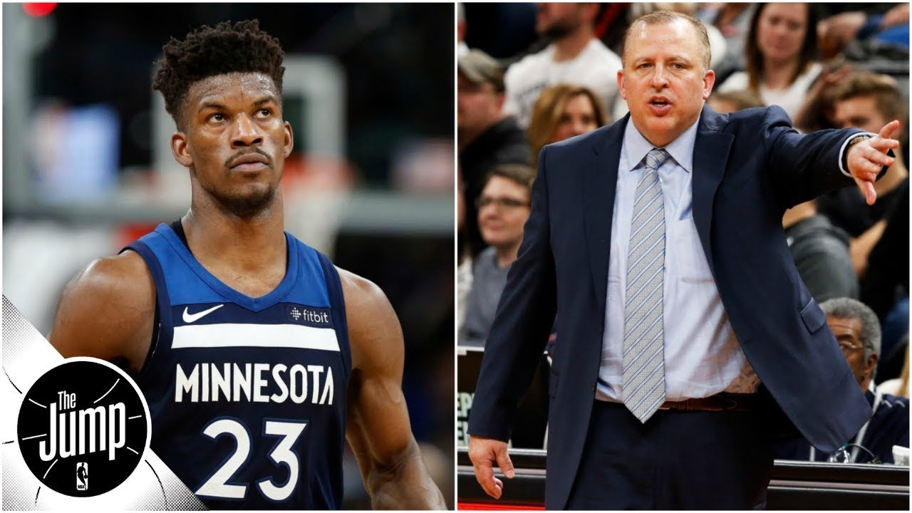 How should Tom Thibodeau handle Jimmy Butler drama? | The Jump