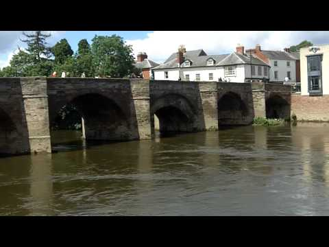 The River Wye at Hereford.