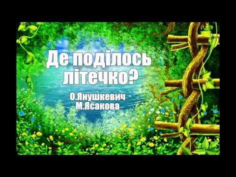 Де поділось літечко?  , О.Янушкевич, М.Ясакова