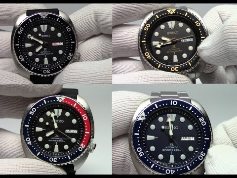 Seiko Turtle New Releases The Pepsi And The Blue Turtle Youtube