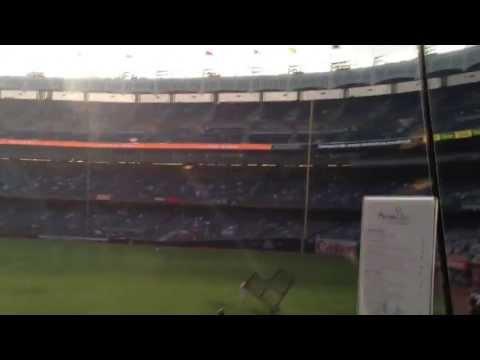 Inside the Mohegan Sun Sports Bar at Yankee Stadium