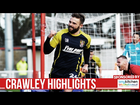 HD HIGHLIGHTS | Crawley 1-2 Stevenage | League Two 2016/2017