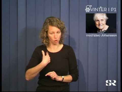 SR P1: Vinter med Elsie Johansson, del 7 av 7