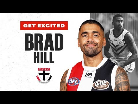 Get Excited, Saints: The Best Of Star Recruit Brad Hill | Trade Period | 2019 | AFL