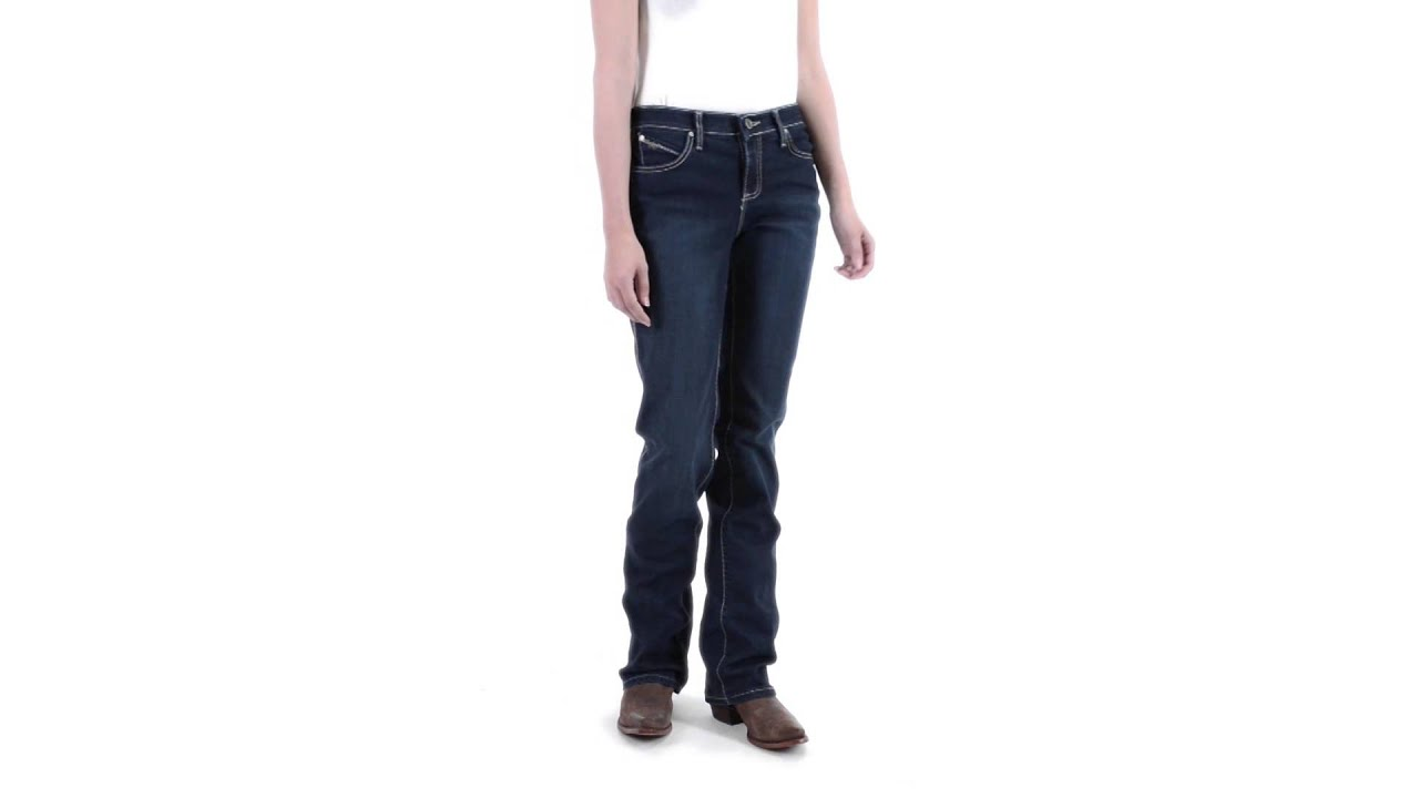 479a74b1a74 Wrangler Q-Baby Ultimate Riding Jeans - Cowgirl Cut (For Women ...