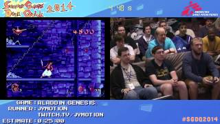 Summer Games Done Quick 2014 - Part 24 - Aladdin