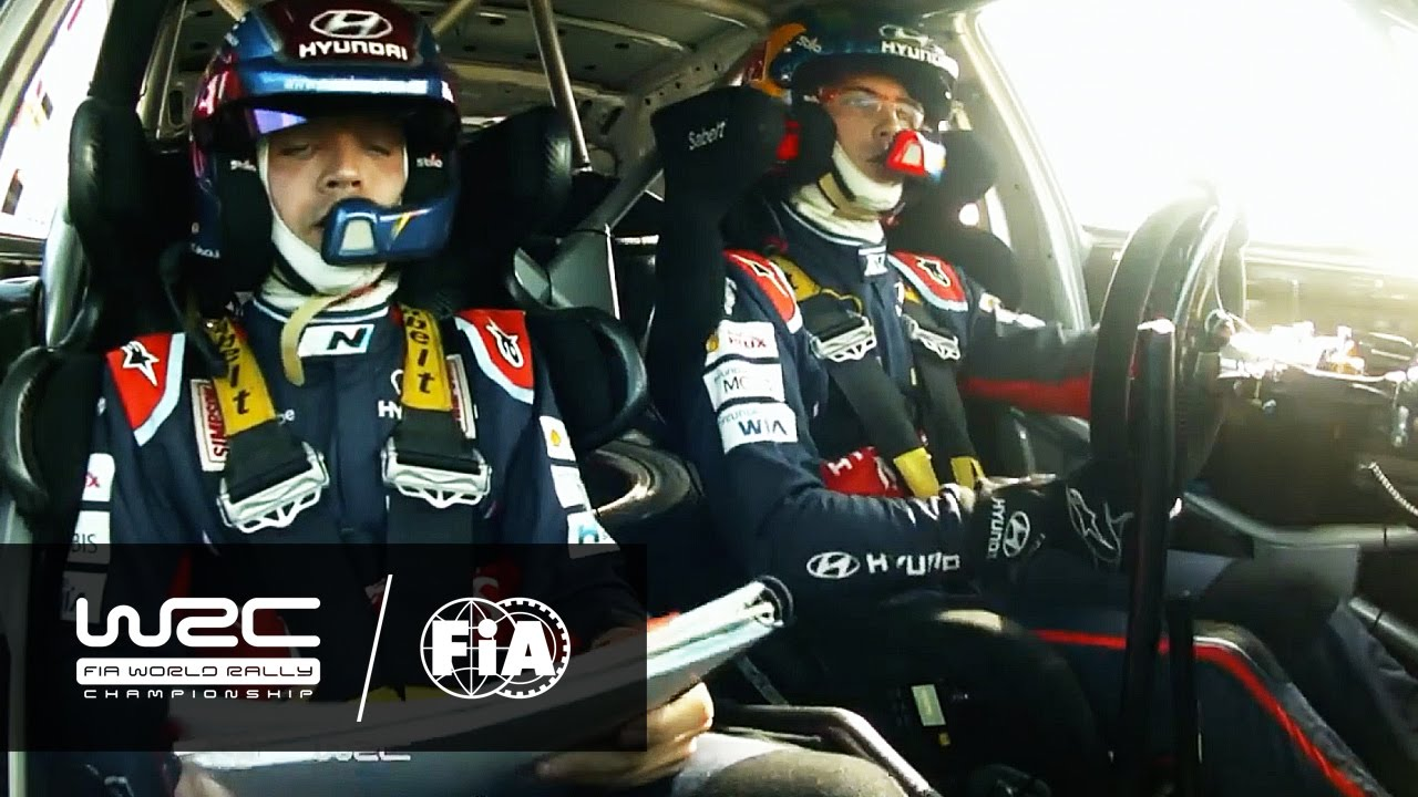 WRC - Insights 2016: TEAMWORK - Neuville & Co-Driver Gilsoul - YouTube