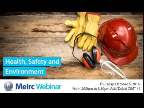 Health, Safety and Environment | Healthcare and Pharmaceutical Management | Dubai | Meirc