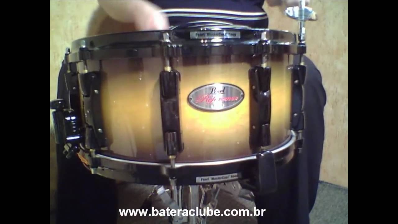 caixa pearl reference 14x6 5 inca gold snare youtube. Black Bedroom Furniture Sets. Home Design Ideas