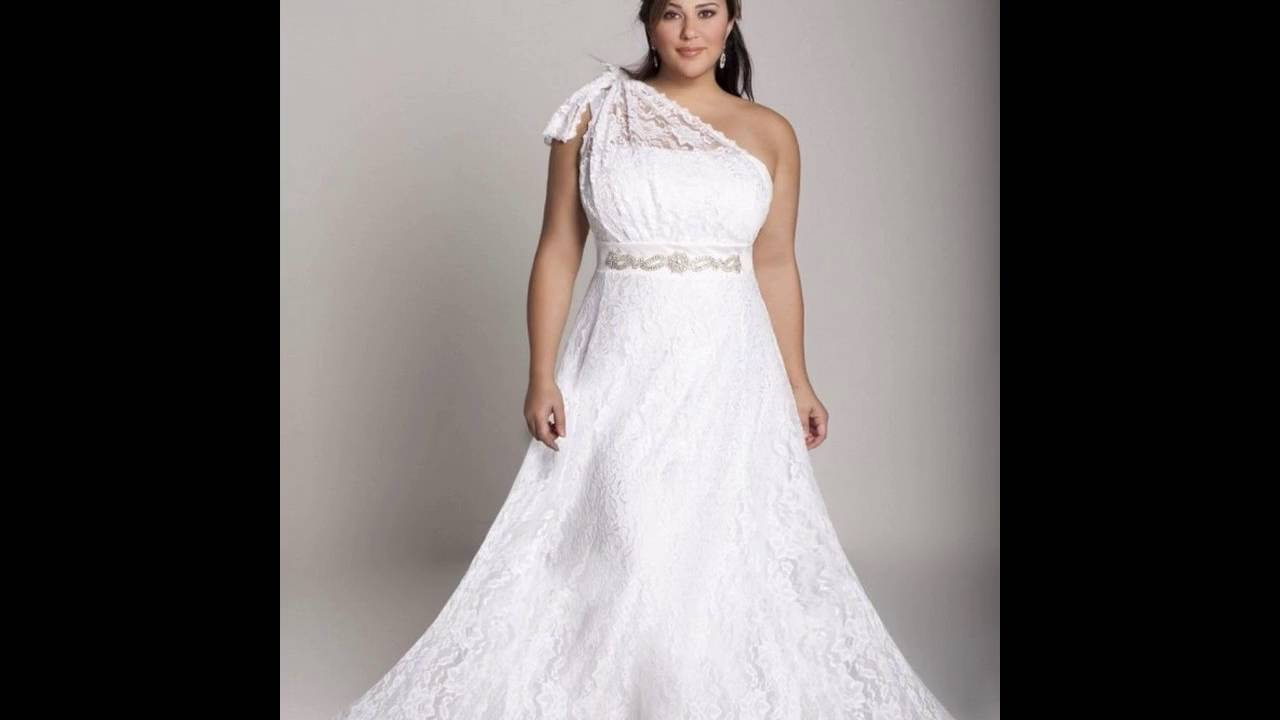 Plus Size Informal Wedding Dresses Youtube