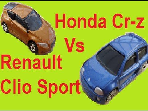 Drag Race Honda Cr-z Vs Renault Clio Sport