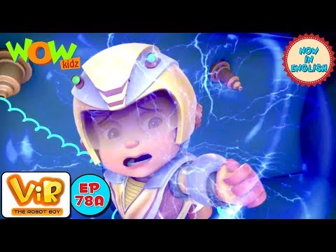 Vir: The Robot Boy - Invisible Power Attack - As Seen On HungamaTV - IN ENGLISH