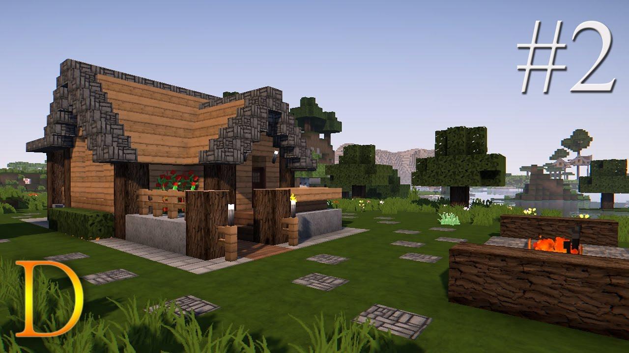 Minecraft Poradnik Jak Zbudowac Domek Z Drewna Na Start 2