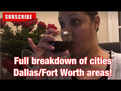 Full Breakdown On Cities/Areas To Live In Dallas! #Dallas #Texas #DFW #northtexas #home #relocate