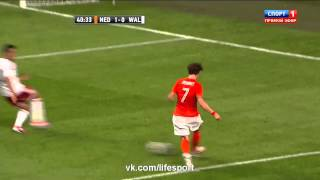 голландия 2:0 Уэльс  Обзор Матча