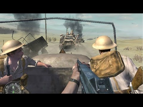 British Infantry in a Heavy Urban Combat for El Alamein 1942 ! Call of Duty 2