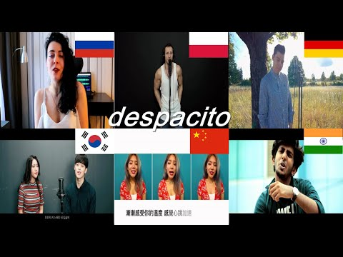 Which language is better? Despacito polish;chinese korean hebrewhindiRussianGerman Luis Fonsi