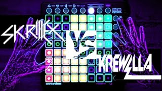 SKRILLEX - Bangarang (VS) KREWELLA - Come & Get It - [Launchpad Battle]